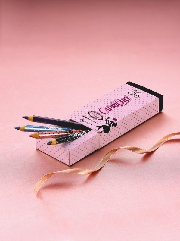 Capricho Vintage Kit Mini Lápis
