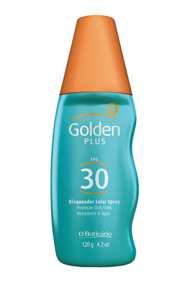 Golden Plus Bloqueador Solar Spray FPS 30