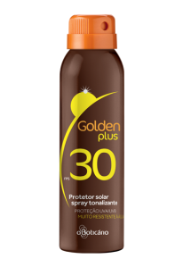 Golden Plus Protetor Solar Spray Tonalizante FPS 30